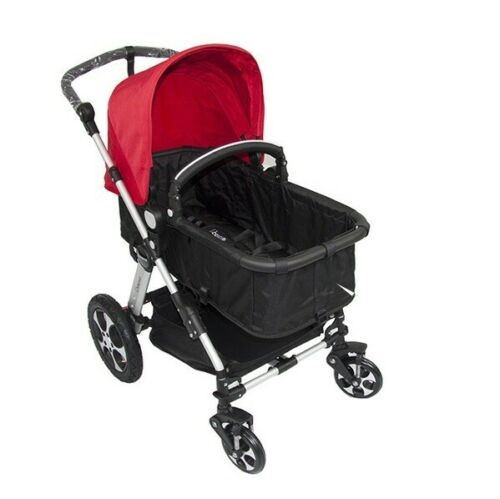 i.Believe Aluminium 2in1 Baby Pram Stroller & Convertible Bassinet Seat