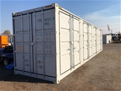 2020 Unreserved Unused 40ft Side Opening Container - Darwin