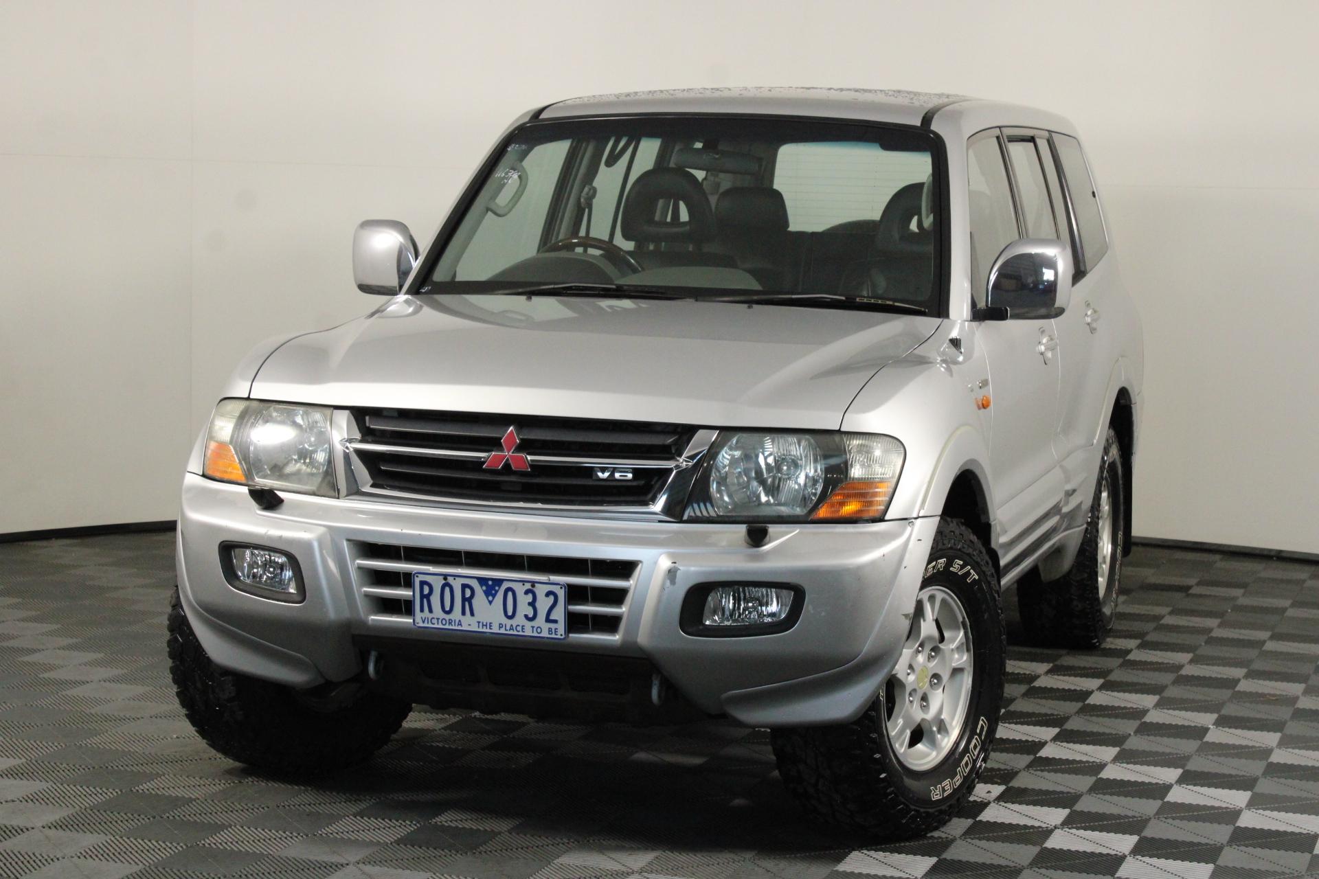 2002 Mitsubishi Pajero GLS LWB (4x4) NM Automatic Wagon