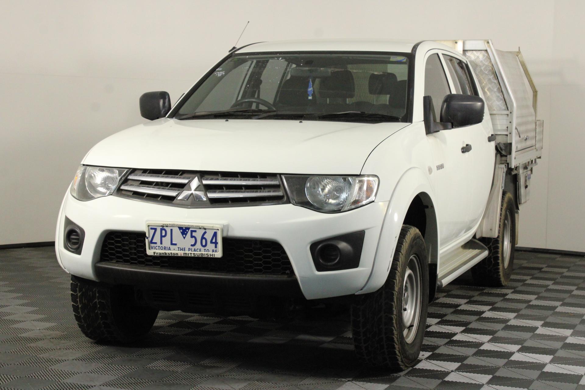 2013 Mitsubishi Triton 4X4 GLX MN Turbo Diesel Automatic Dual Cab