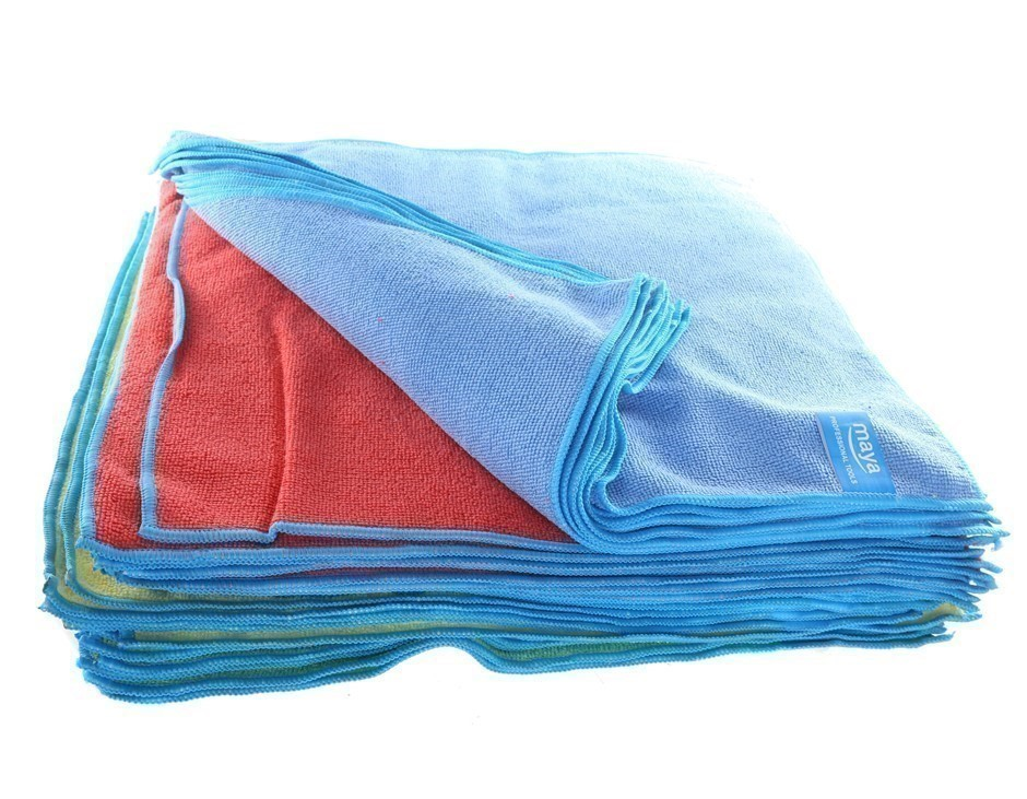 Pack of 36 x Multi-Purpose Microfibre Cloths 40 x 40cm 20GSM. Buyers Note -