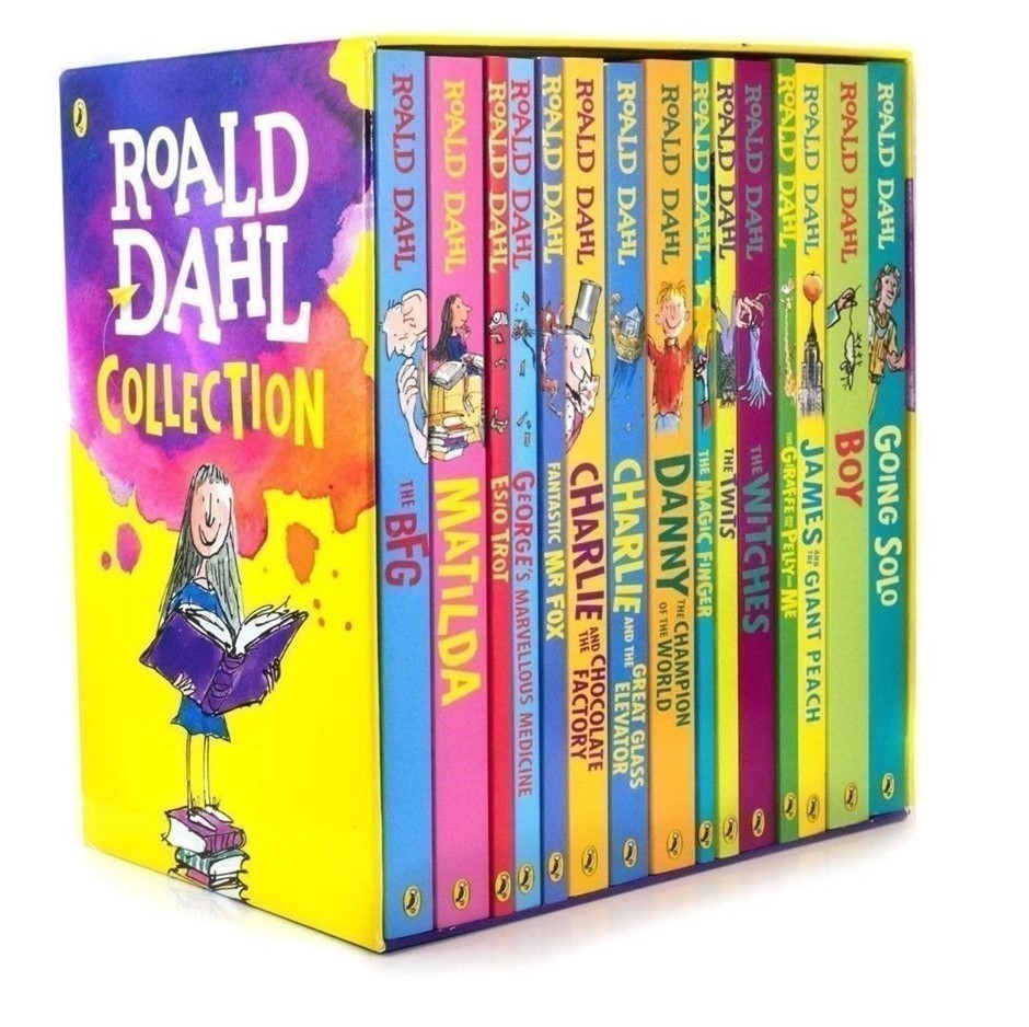 ROALD DAHL Collection of 15 Books. Buyers Note - Discount Freight Rates App