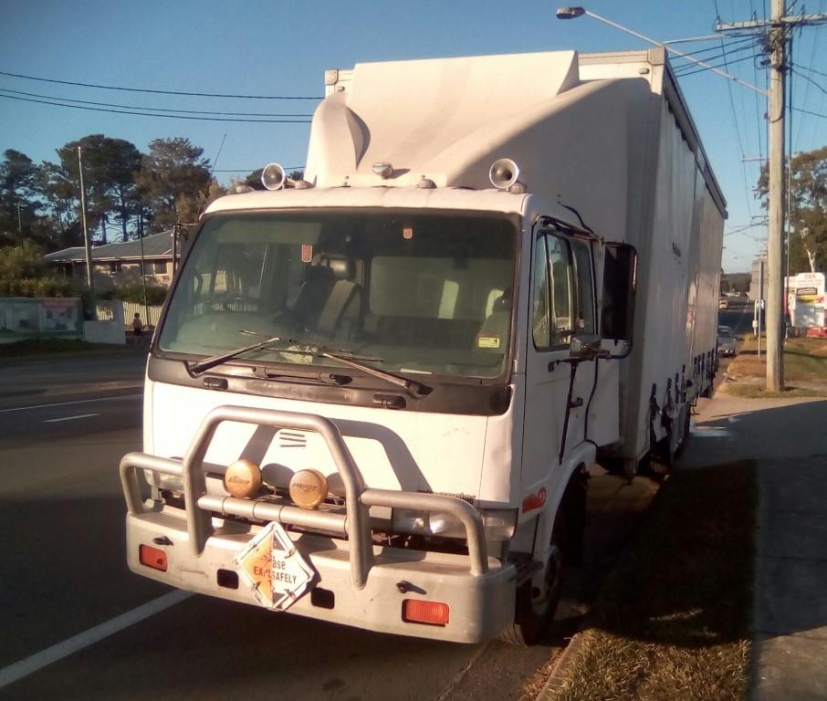 1997 UD MK235 6 x 2 Curtainsider Rigid Truck