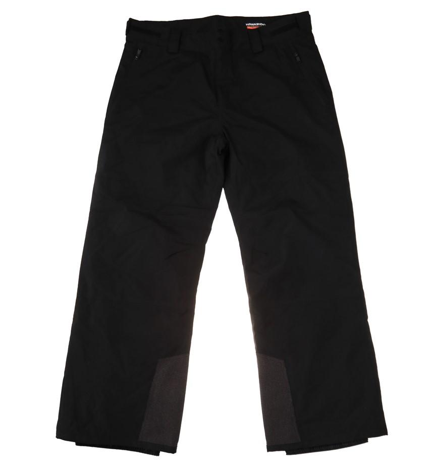 HAWKE & CO Performance Fit Ski Pants, Size XL, Dynamic Sport Fabric, Black.