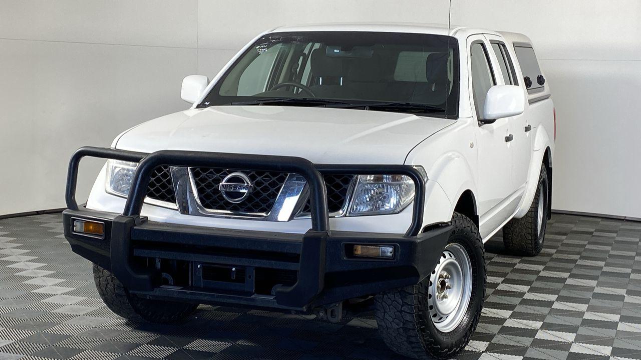 2013 Nissan Navara DUAL CAB RX 4X2 D40 Turbo Diesel Automatic Dual Cab