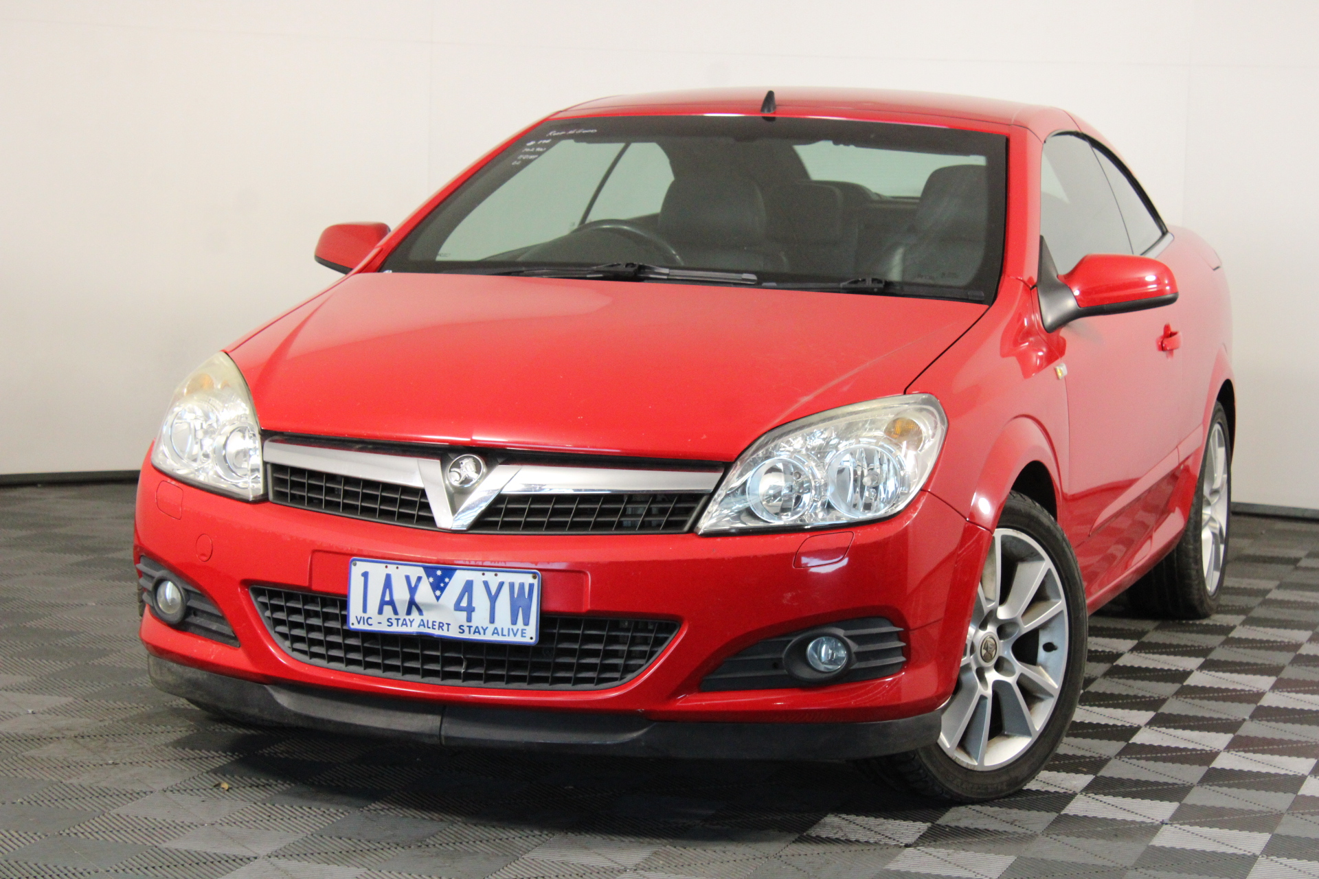 2008 Holden Astra Twin Top AH Manual Convertible