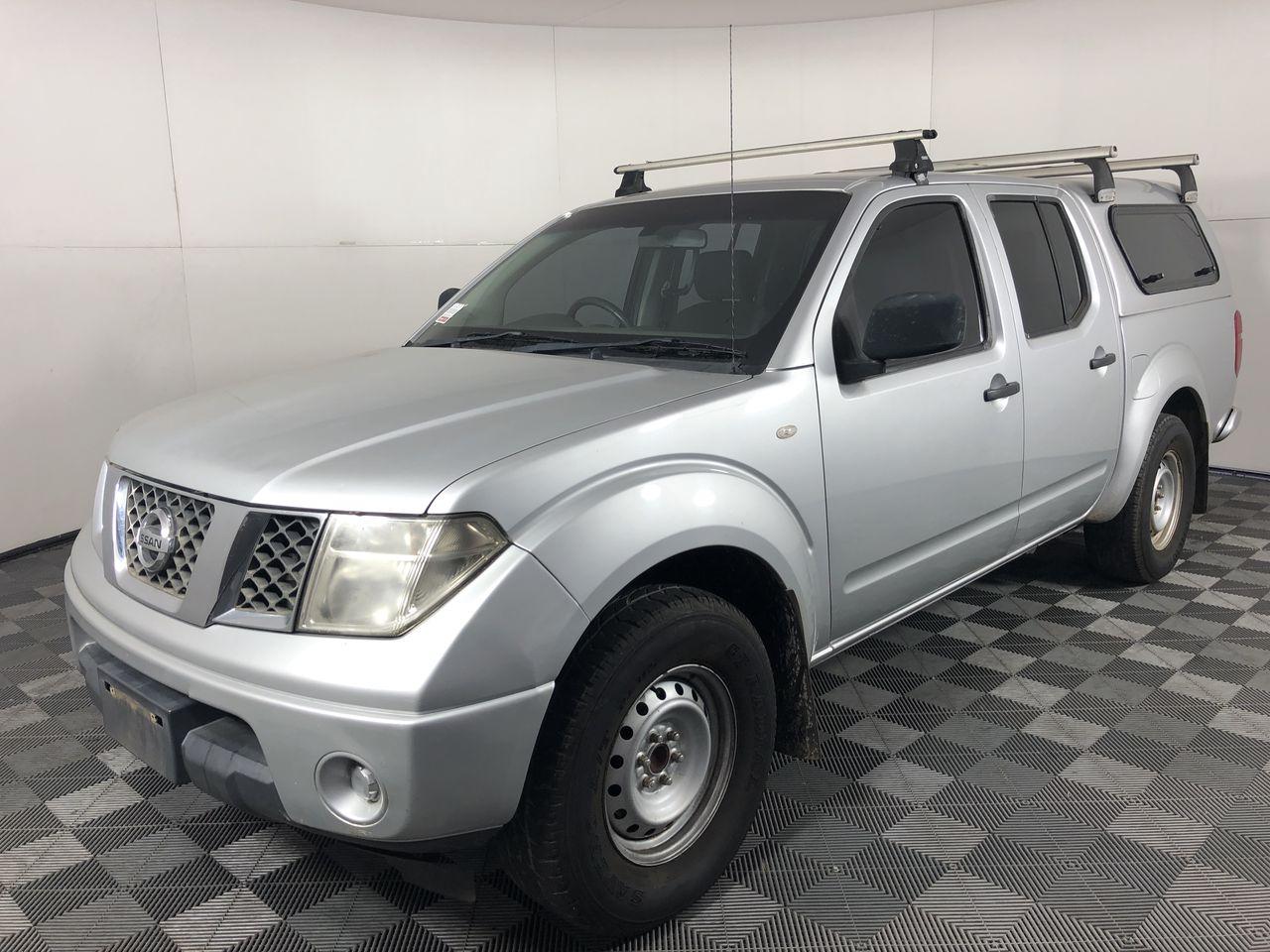 2011 Nissan Navara RX D40 Turbo Diesel Automatic Dual Cab