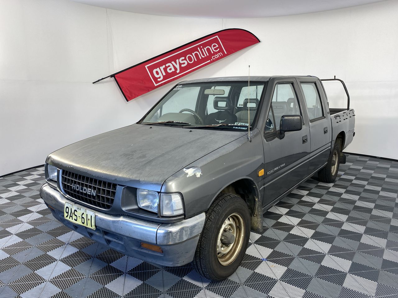 1995 Holden Rodeo DELUXE G3 Automatic Dual Cab