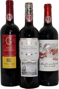 Mixed Pack of Spanish Rioja (3x 750mL),