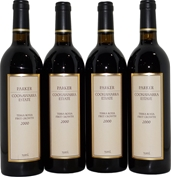 Parker Terra Rossa First Growth Cabernet Merlot 2000 (4x 750mL), SA, Cork.