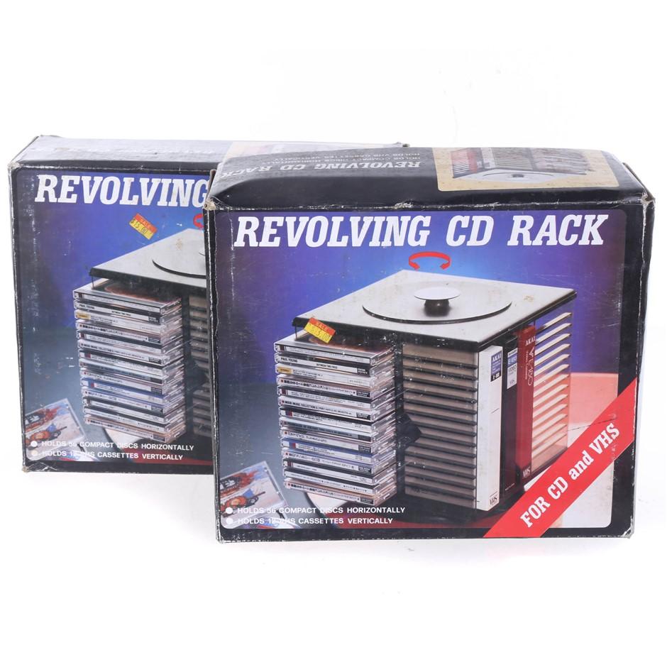 2 x CD Racks. (SN:ZFG00217) (272629-420)