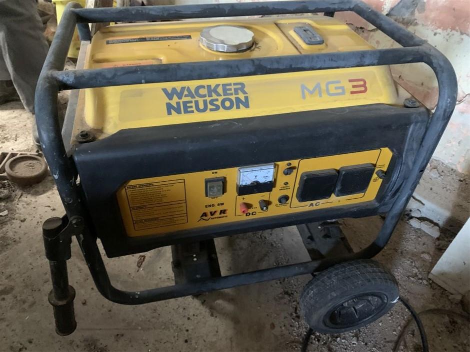 Generator, Waker Neuson, MG3