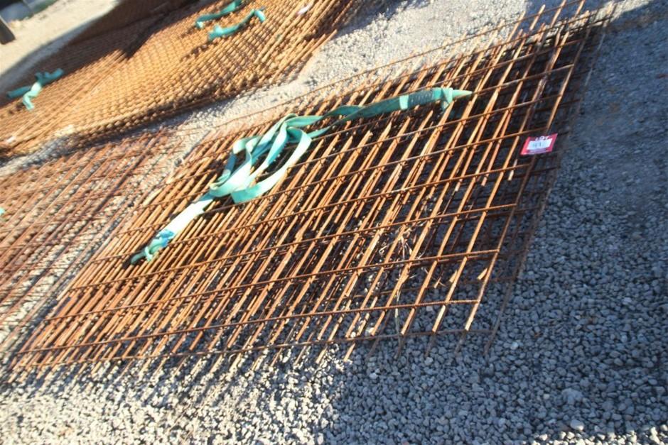 5x Steel Concrete Mesh Sheets