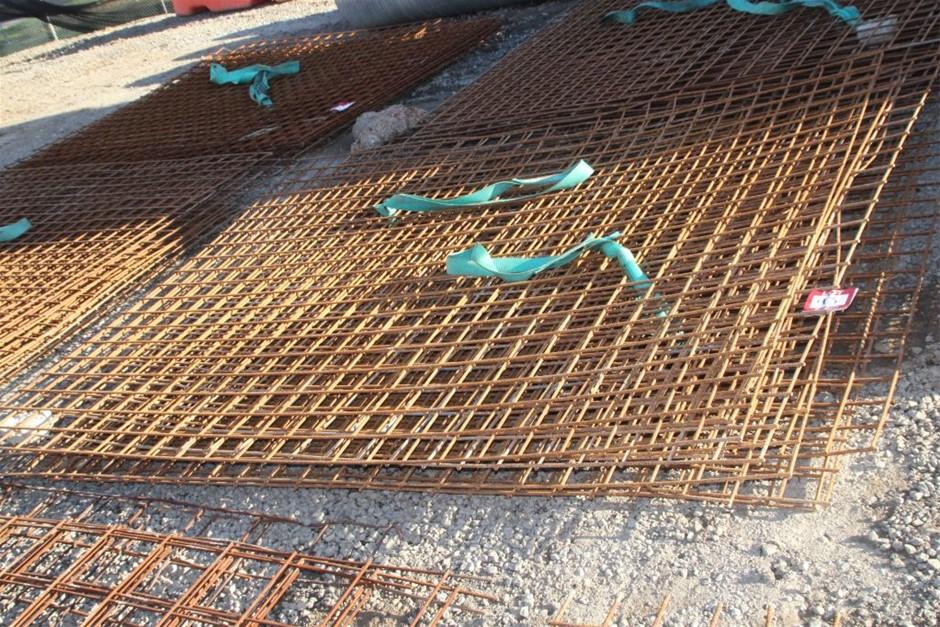 10x Steel Concrete Mesh Sheets