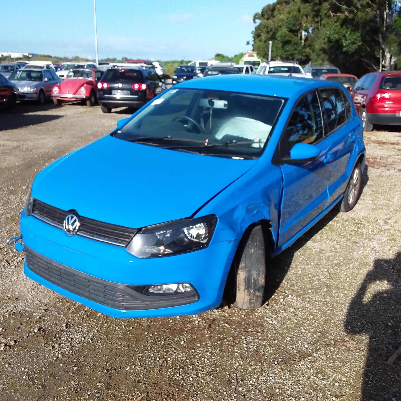 2014 Volkswagen Polo 66TSI TRENDLINE 6R Manual Hatch (WOVR)