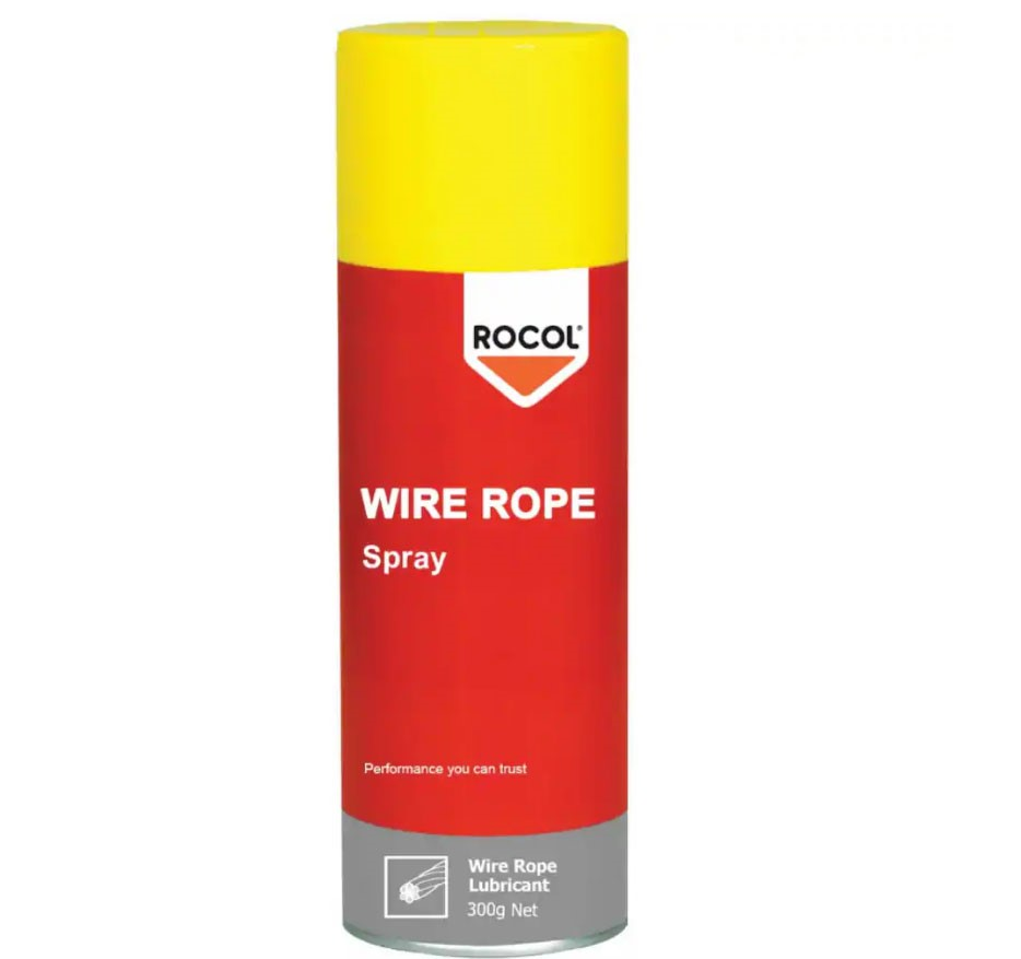 ROCOL Wire Rope Lubricant Spray, 300g. Buyers Note - Discount Freight Rates