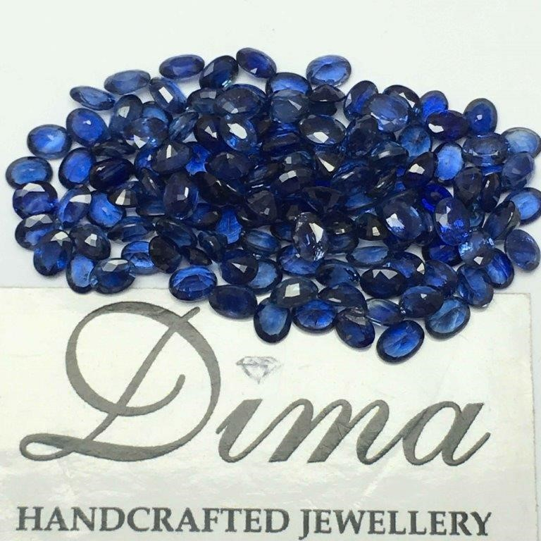 Parcel of Loose Blue Sapphire, 20.22ct in Total