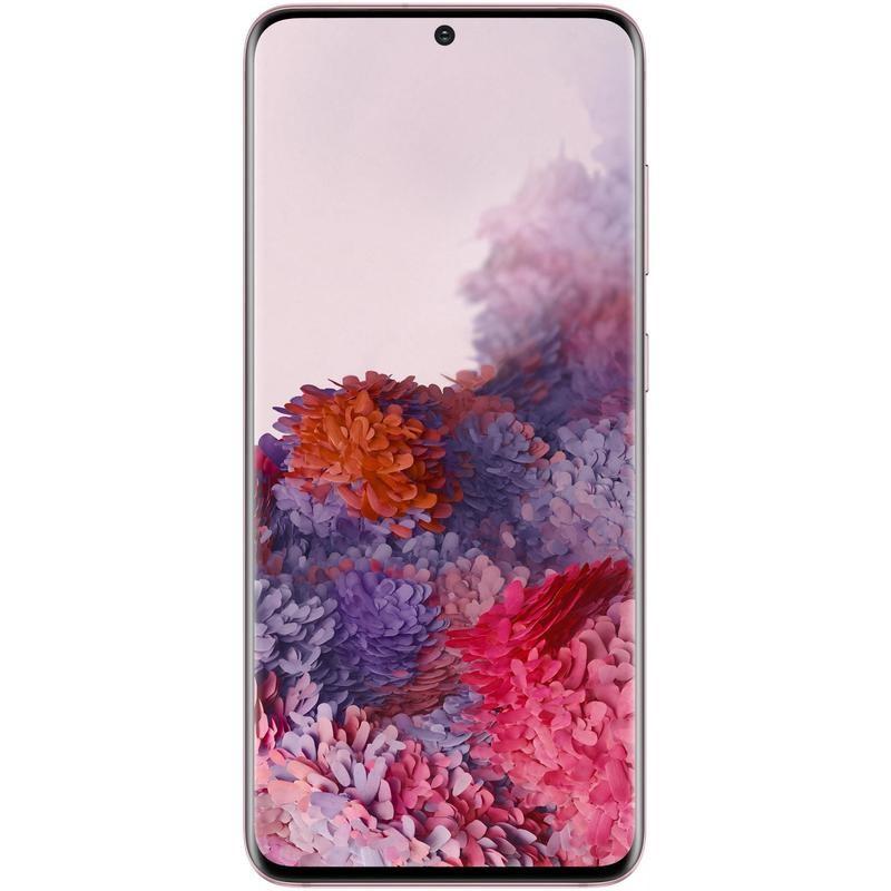 SAMSUNG Galaxy S20 Mobile Phone, 128GB, Cloud Pink. N.B. Item has been plug