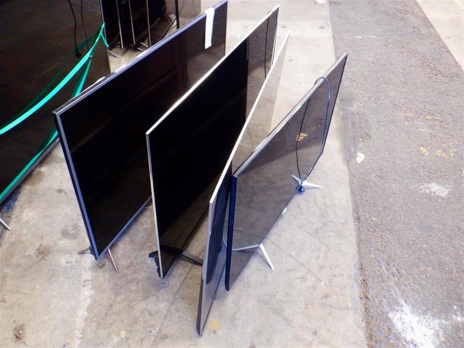 Qty 4 x Ex-Rental Faulty TV's