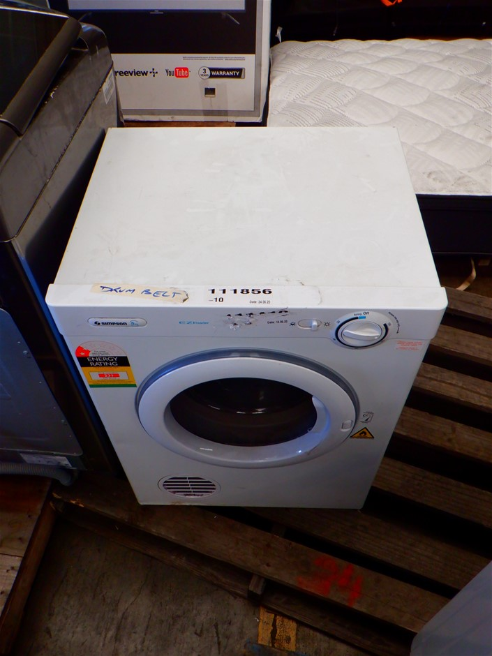 Qty 4 x Ex-Rental Faulty Washing Machines