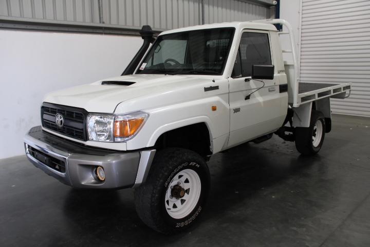 10/2011 Toyota Landcruiser VDJ79R Workmate T/Diesel 4WD Ute 80,303 km's
