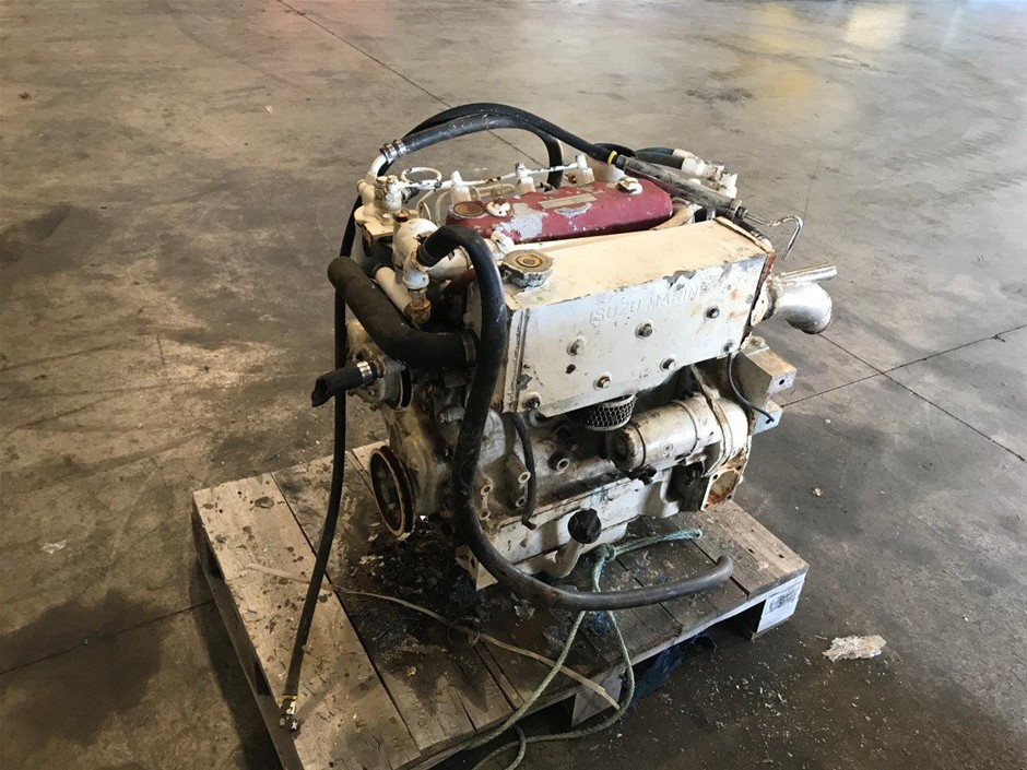 Isuzu 3AB1 Marine Diesel Engine