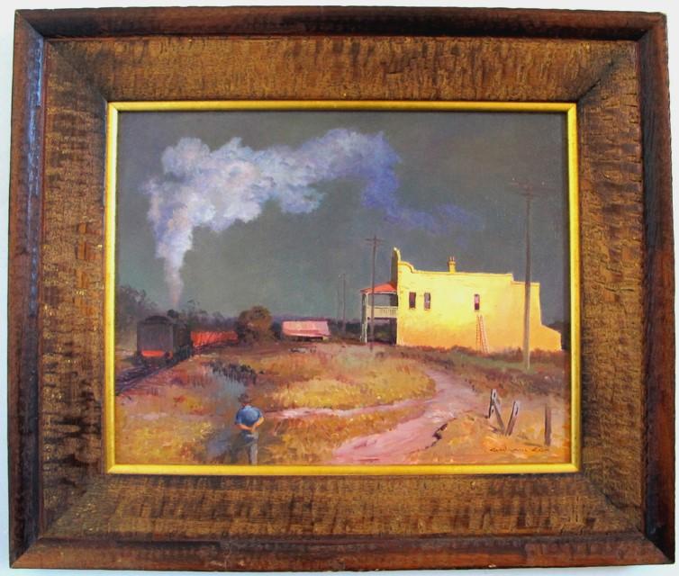 GRAHAM COX (b.1941) ORIGINAL OIL Painting on canvas artist board