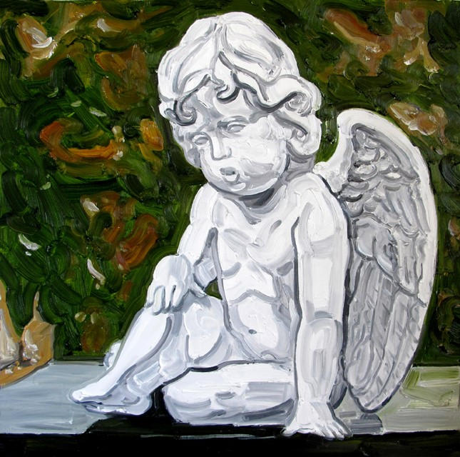 James FREIBERG (b.) Oil Painting on Stretched Canvas, Title : 'Cherub'
