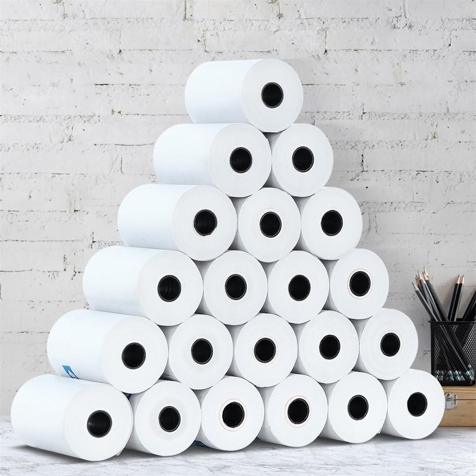 120 Bulk Thermal Paper Rolls 57x38mm Cash Register Receipt Roll Eftpos