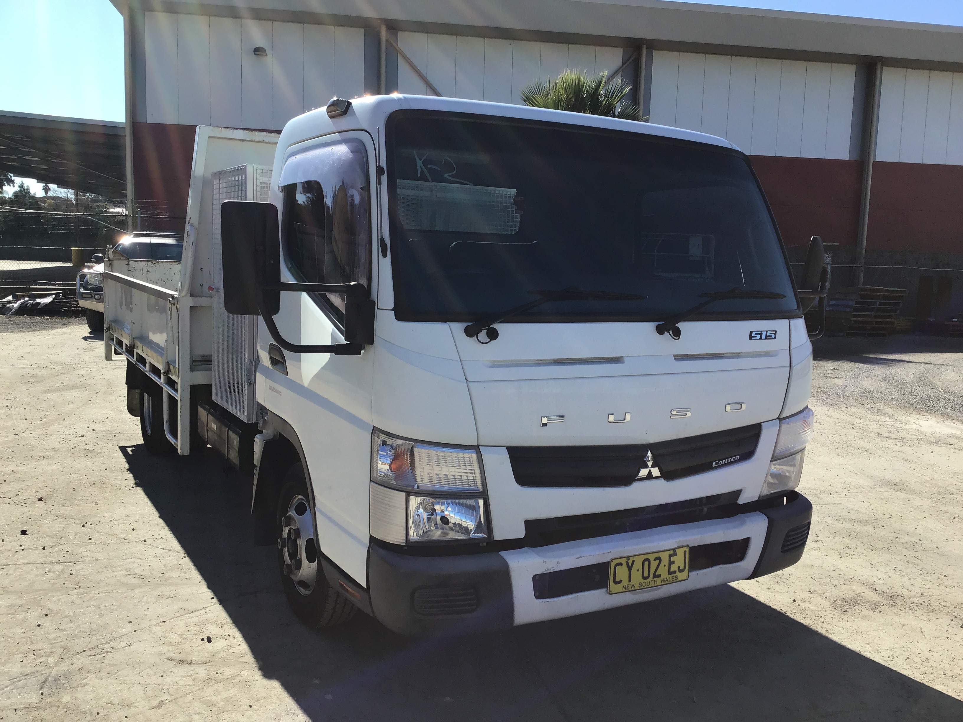 2013 Mitsubishi Fuso Canter 515 4 x 2 Tipper Truck