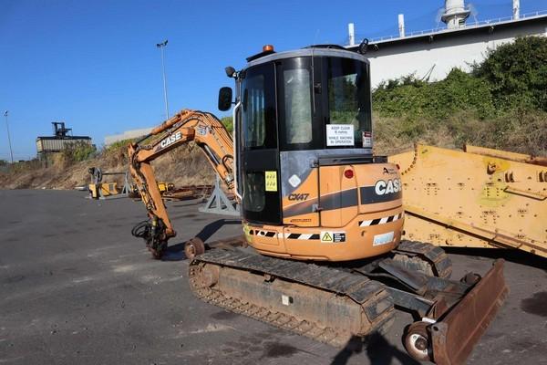 2005 Hi Rail Case CX47 Excavator