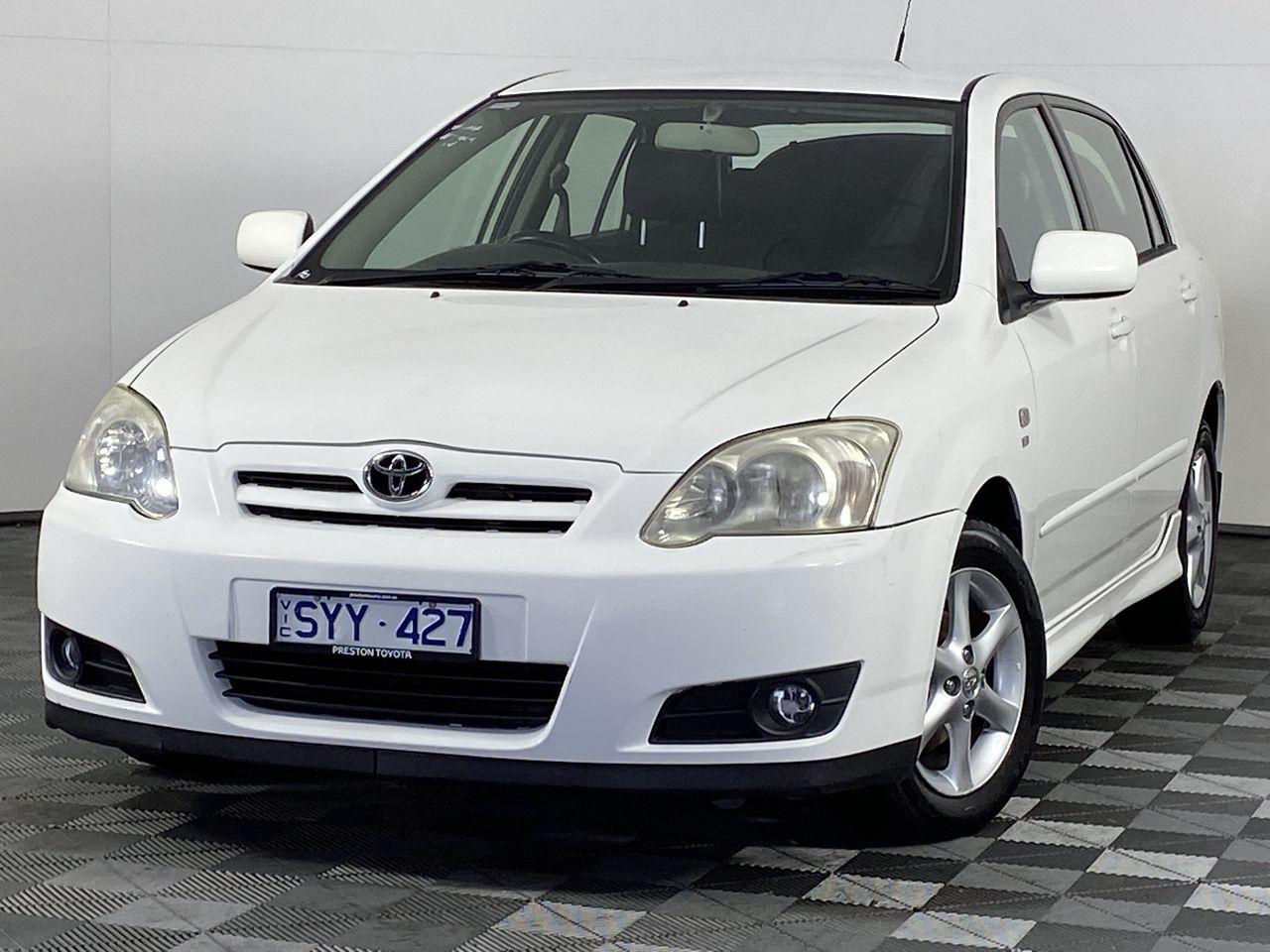 2004 Toyota Corolla Levin Seca ZZE123R Manual Hatchback