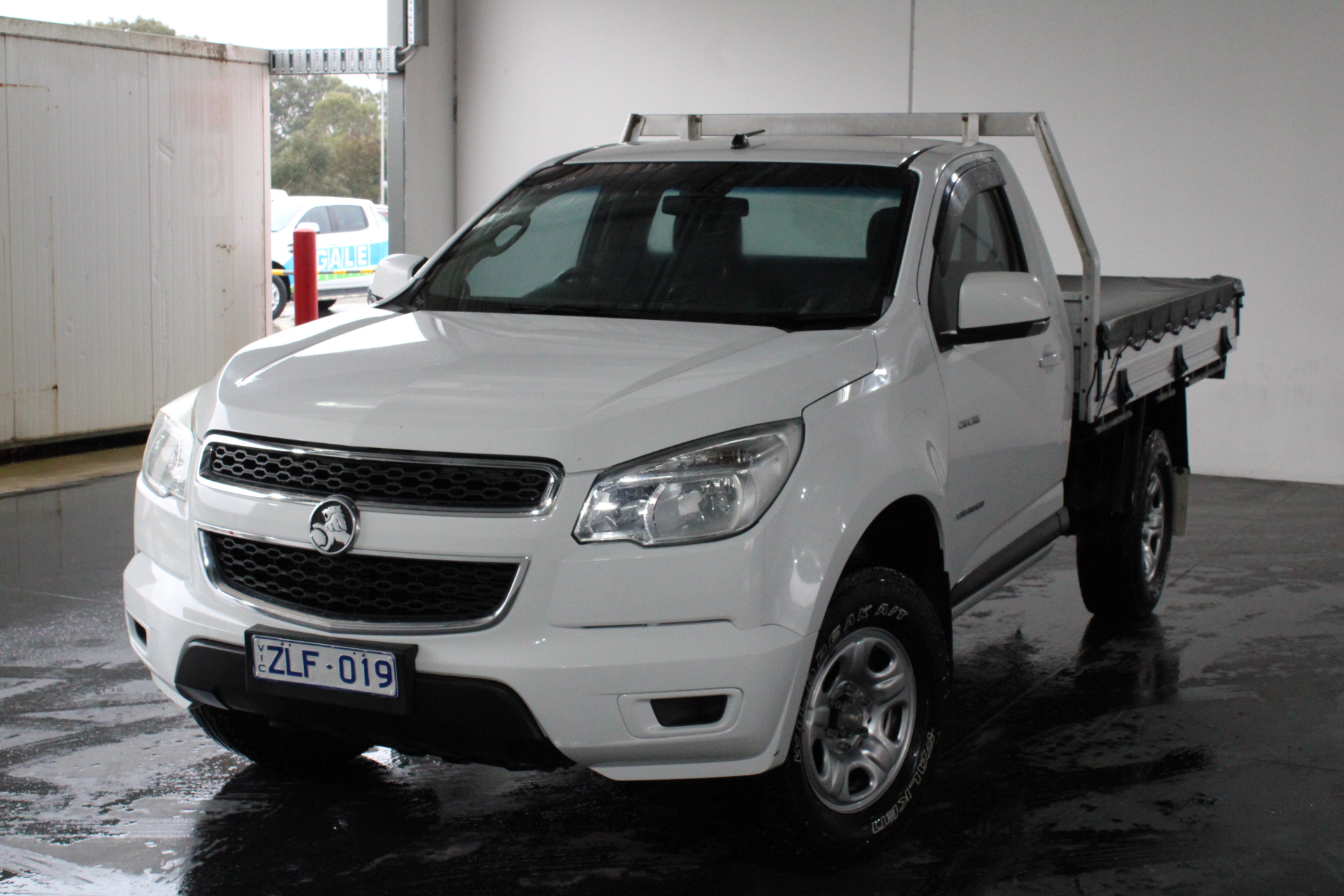 2012 Holden Colorado 4X2 LX RG Turbo Diesel Manual Cab Chassis