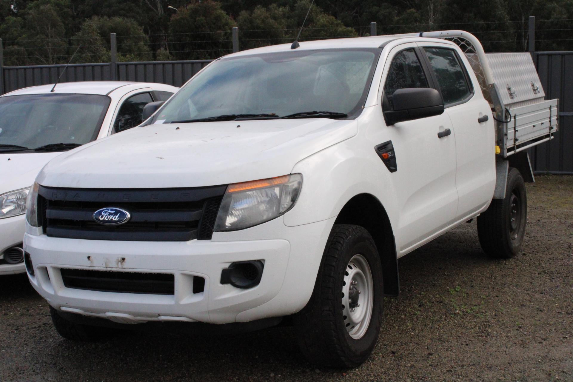 2013 Ford Ranger XL 4X4 PX Turbo Diesel Manual Crew Cab Chassis