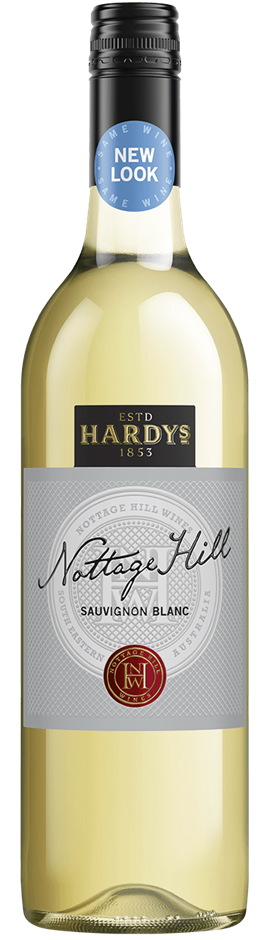 Hardys Nottage Hill Sauvignon Blanc 2019 (6 x 750mL), SE AUS.