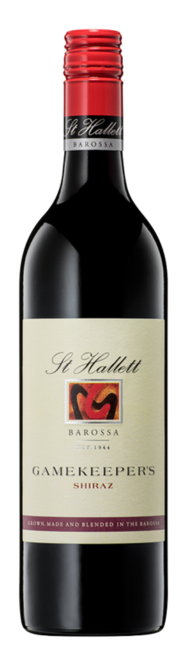 St Hallett Gamekeepers Shiraz 2019 (6 x 750mL), Barossa, SA.