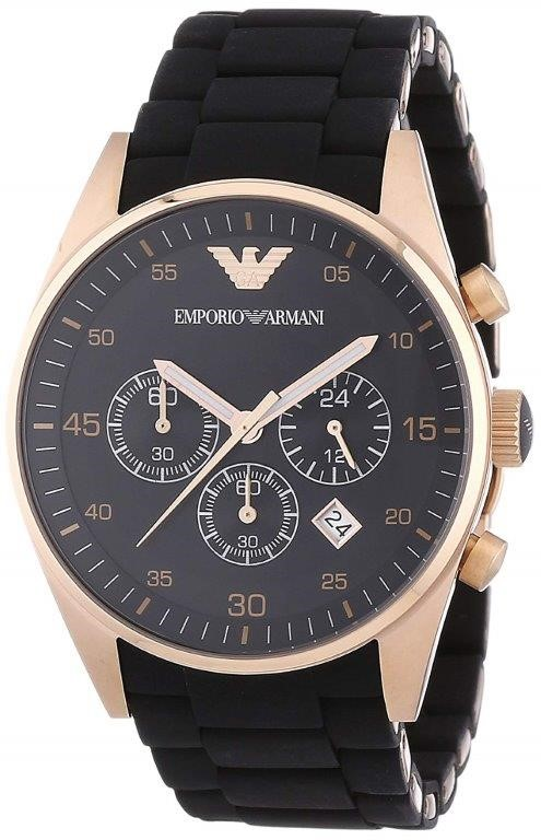 Designed with style, new Emporio Armarni men's watch