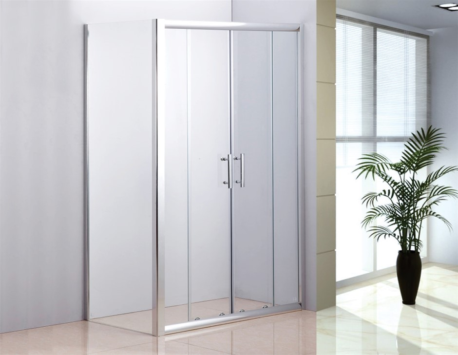 1200 X 700 Sliding Door Safety Glass Shower Screen Della Francesca