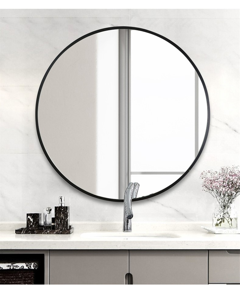 90cm Round Wall Mirror Bathroom Makeup Mirror Della Francesca