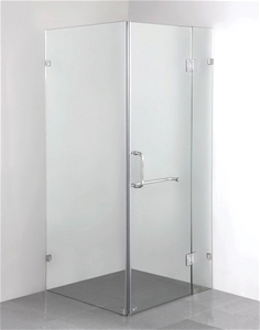 1000 x 800mm Frameless 10mm Glass Shower