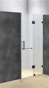 110 x 200cm Wall to Wall Frameless Showe