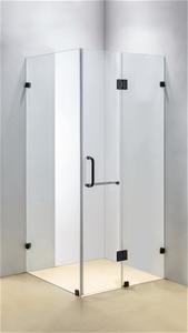 1200 x 1000mm Frameless 10mm Glass Showe