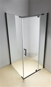 Shower Screen 1200x700x1900mm Framed Saf