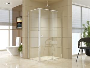 Semi Frameless Shower Screen (114~122)x