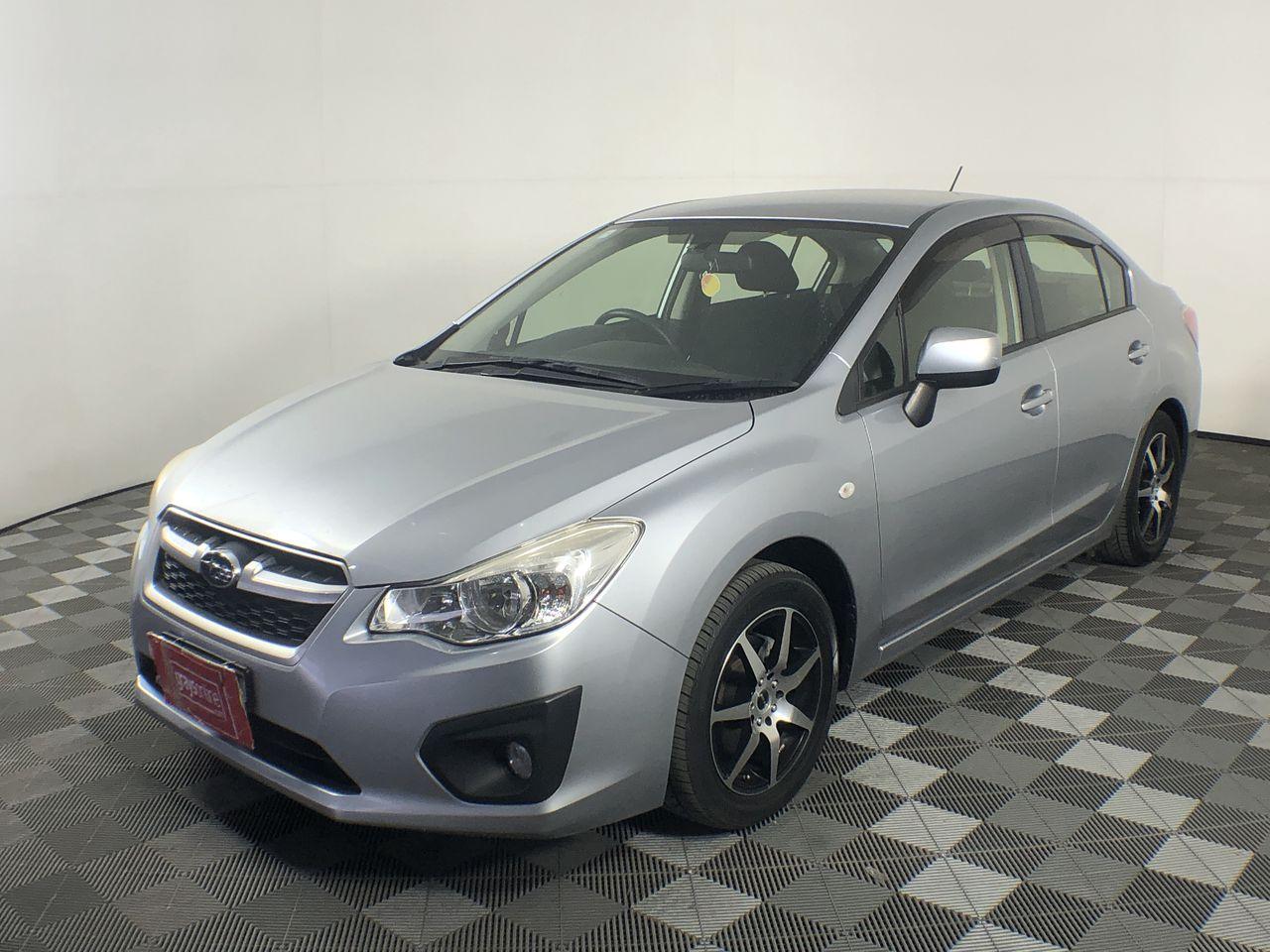 2012 Subaru Impreza 2.0i (AWD) G4 CVT Sedan