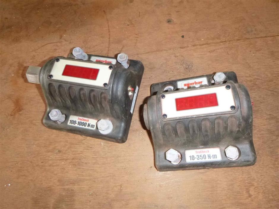 2 x Norbar 100-1000 NM Trucheck Digital Torque Wrench Check