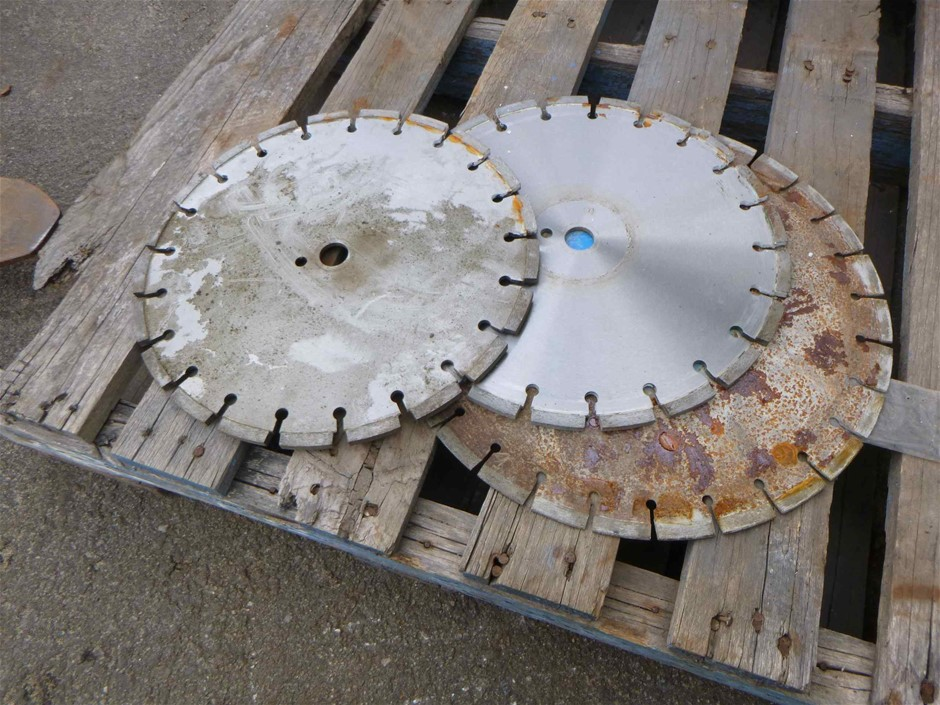 3 x Concrete Cutting Discs