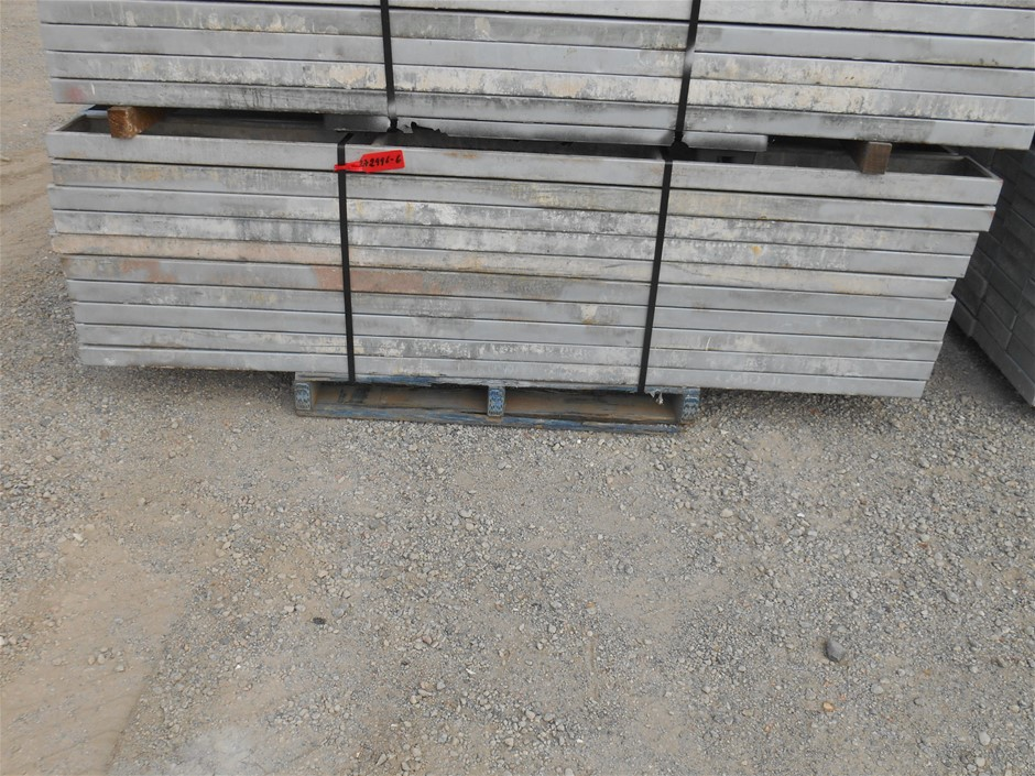 50x BSL Scaffold Galvanized Steel Boards Approx. Size (mm): (L)