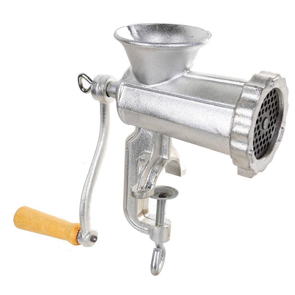 Manual Meat Mincer. Buyers Note - Discount Freight Rates Apply to All Regio