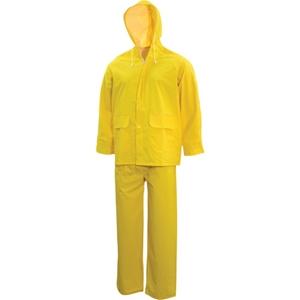 TUFFSAFE 2pc Rainsuit, Size XL, Hooded J